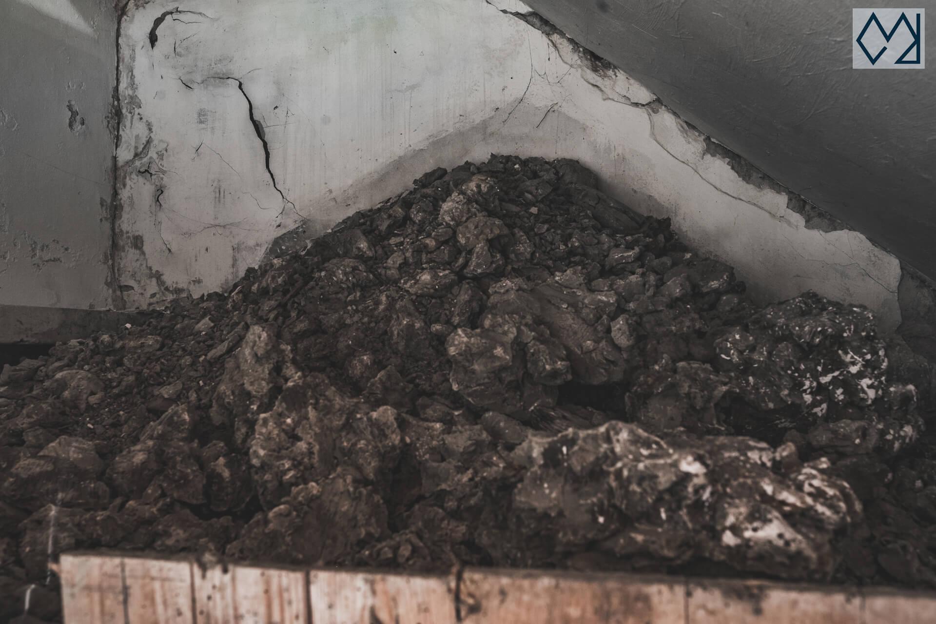 Barro seco que utilizaba José Luis Zorrilla